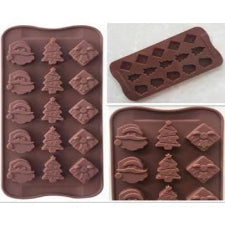 Chocolate truffle silicone mould Christmas, D