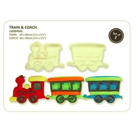 Train and coach Baby PME  JEM pop it easy pop cutter set