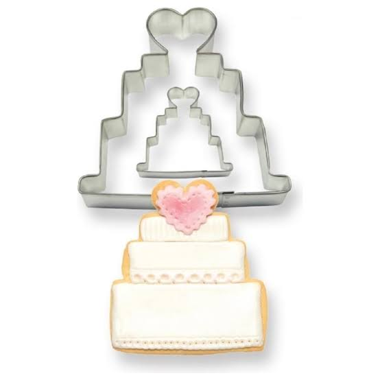 PME Metal Wedding cake cutter set