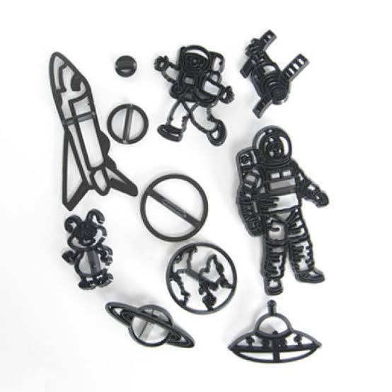 Space Silhouette cutter set