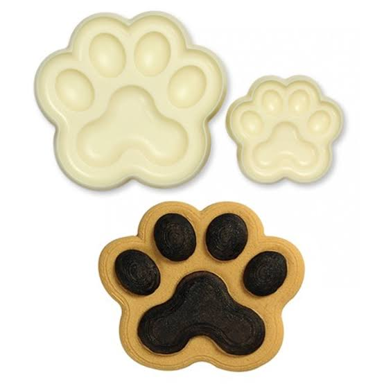 Dog Paws pop it cutter set