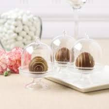 Mini plastic cupcake stand dome, 7cm high