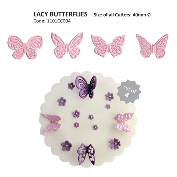 Lace Butterfly Cutter set