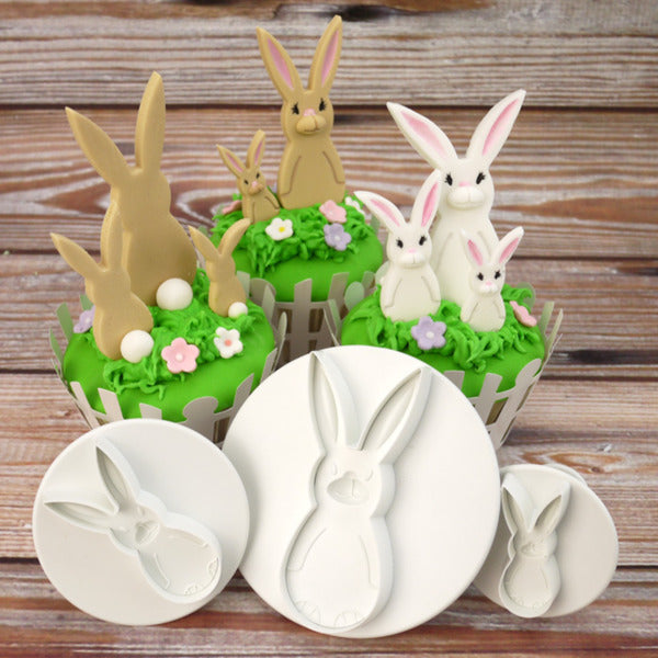 Bunny Rabbit Easter Plunger cutter