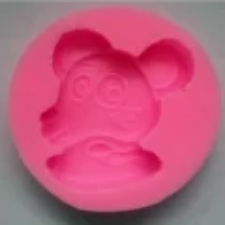 Dog face Silicone fondant / sugar paste mould, size of mould 7cm