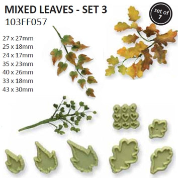 PME Mixed leaves set 3