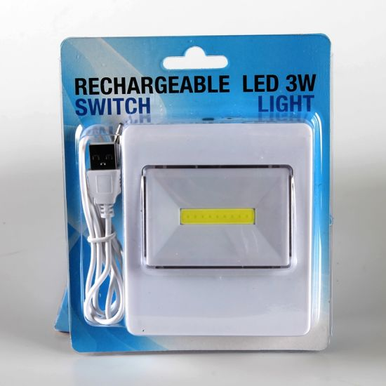 Rechargble LED 3W light