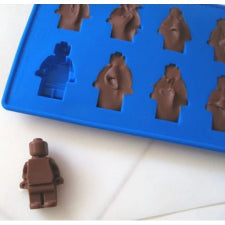 Silicone fondant Lego mould Men 4x2.5x1cm