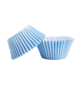 100 piece Light Blue Cupcake holders wrappers