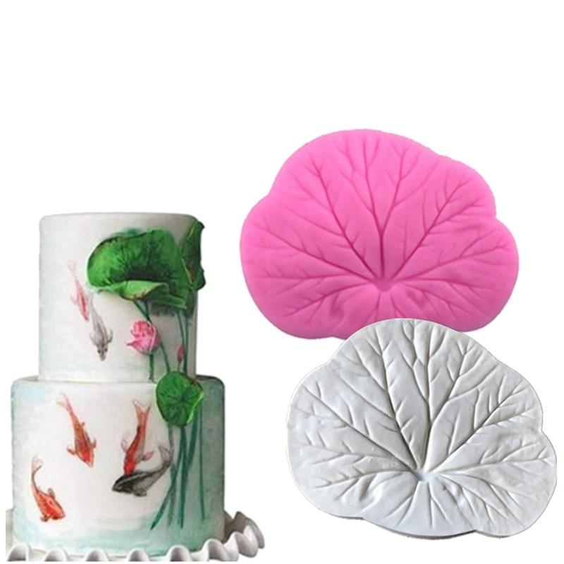 Lotus Leave silicone mould, 8.8x7cm