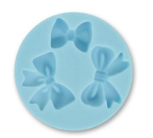 Small Bows silicone mould, smallest bow 2x1.5cm