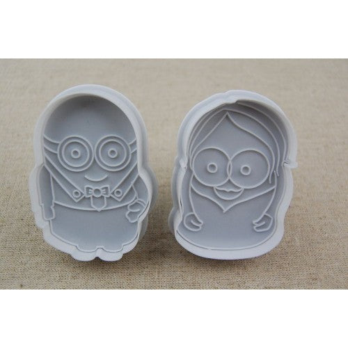 Minion plunger cutter set