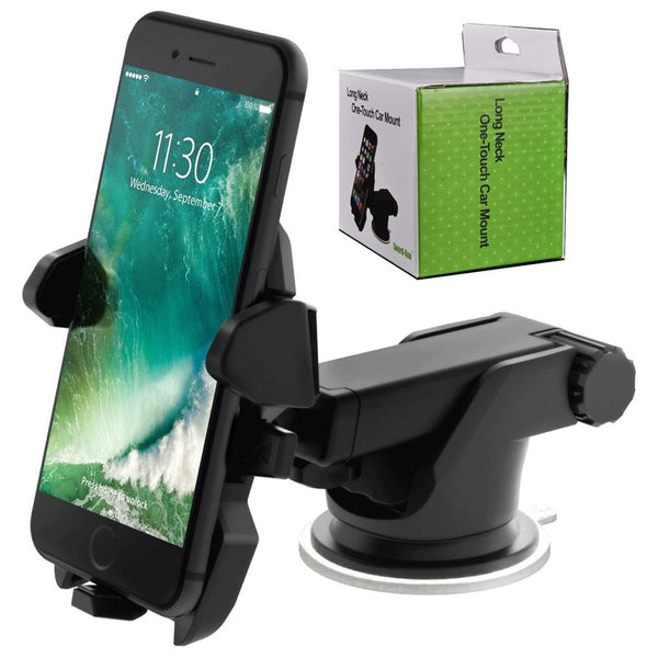 Long Neck one-touch car mount (color may differ)