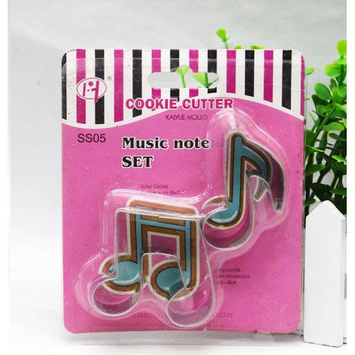 Music metal cookie cutter set