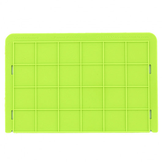 Silicone fondant / sugar paste impression mould, squares
