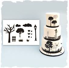Park theme silhouette cutter set