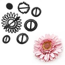 Gerbera Sunflower plastic cutter set, patch work