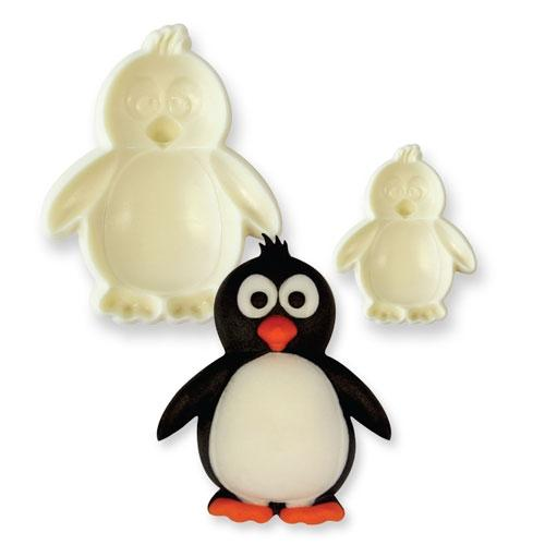 Penguin pop it cutter set