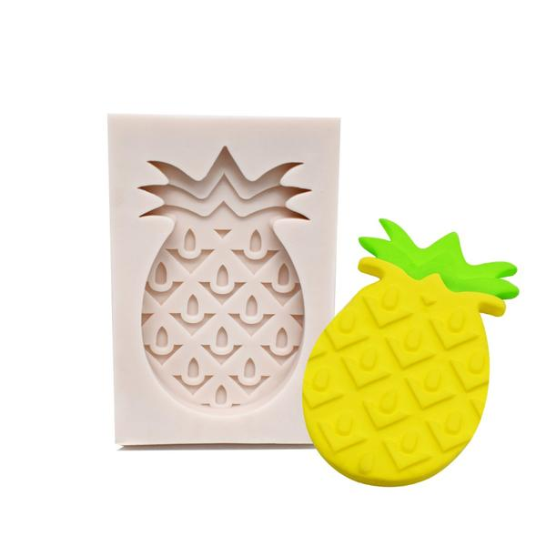 Pineapple silicone mould, 3x5cm