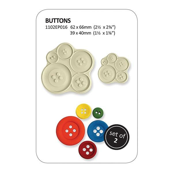 Buttons pop it cutter set