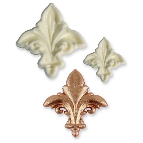 Fleur de Lis pop it cutter set