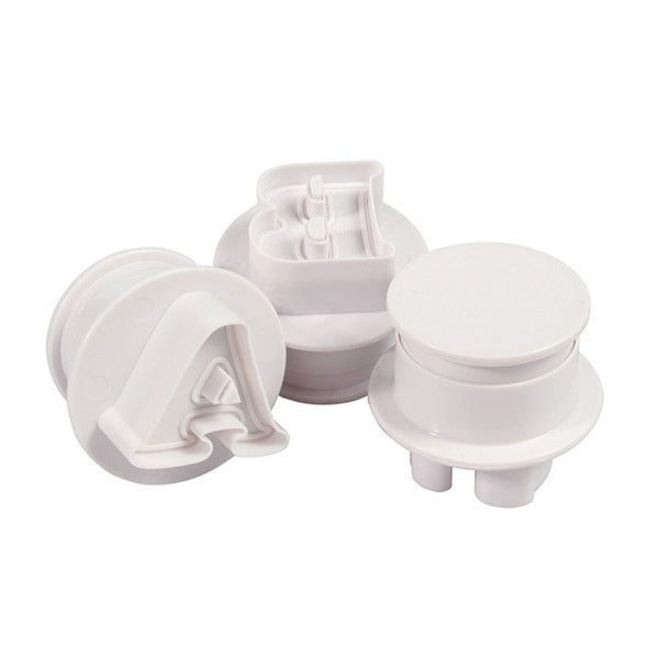 Medium Upper case alphabet plunger cutter, +-3x2.7cm