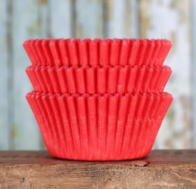 300 piece Red Cupcake holders wrappers