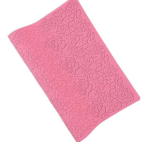 Rose Lace Mat silicone mould