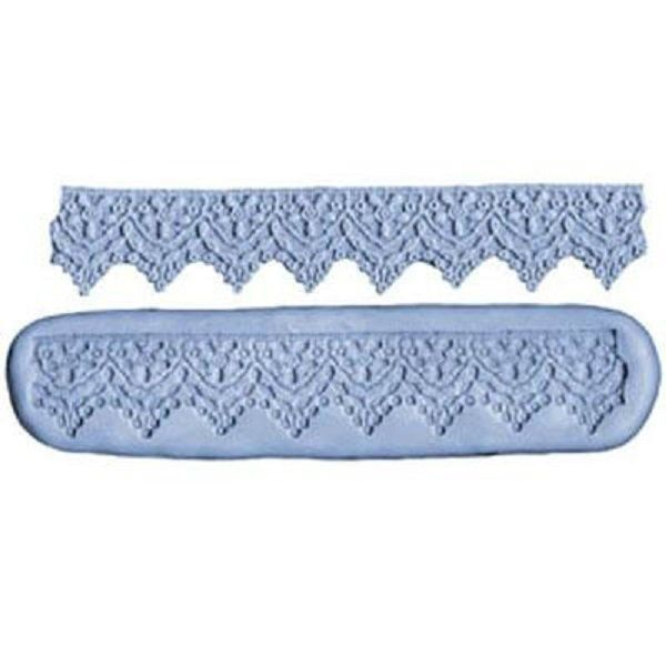 Lace border G silicone mould