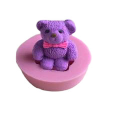 Teddy Bear fondant / sugar paste mould 3cm C