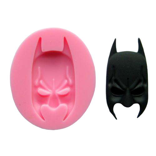 Batman silicone mould, for fondant, size of mould 7x6cm