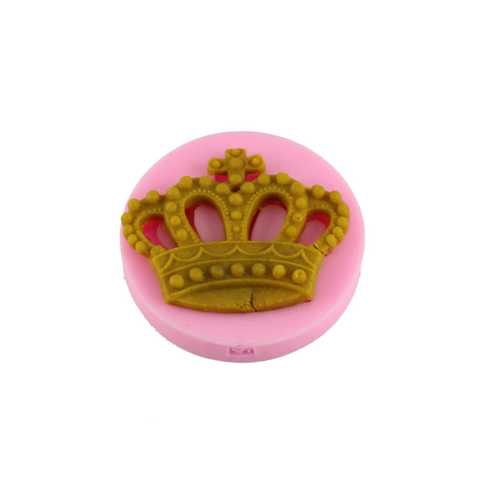 Crown silicone mould, for fondant, size of mould 5.5cm