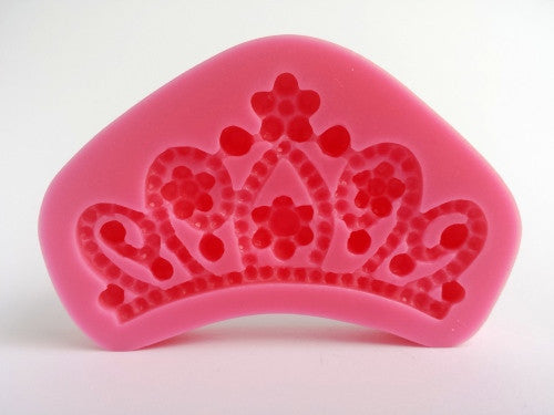 Crown Silicone mould 7x3.5cm