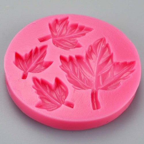 Maple Leaves Silicone fondant mould