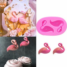 Flamingo Silicone mould, 4x3cm
