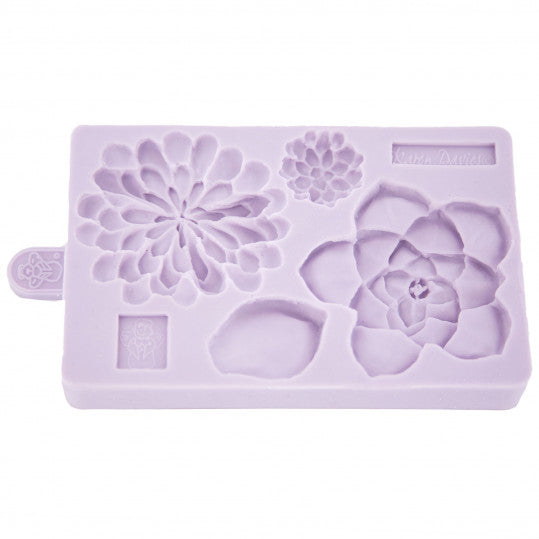 Succulent silicone mould,