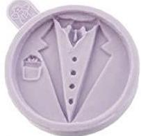 Groom silicone mould, 6cm