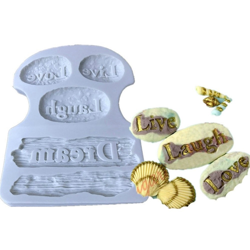 Beach rocks silicone mould