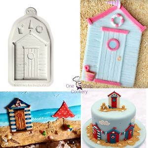Beach House silicone mould, 7.7x5cm