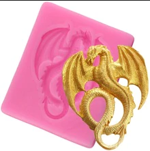 Dragon silicone mould, 3.6x4.5cm, Game of thrones