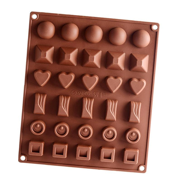 Various Chocolate truffles silicone mould