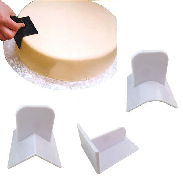 3 piece Fondant  Smoother set