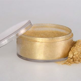 Rolkem Sparkle Powder, Gold 10ml