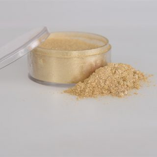 Rolkem Sparkle Powder, Ivory 10ml