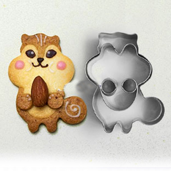 Squirrel metal cookie