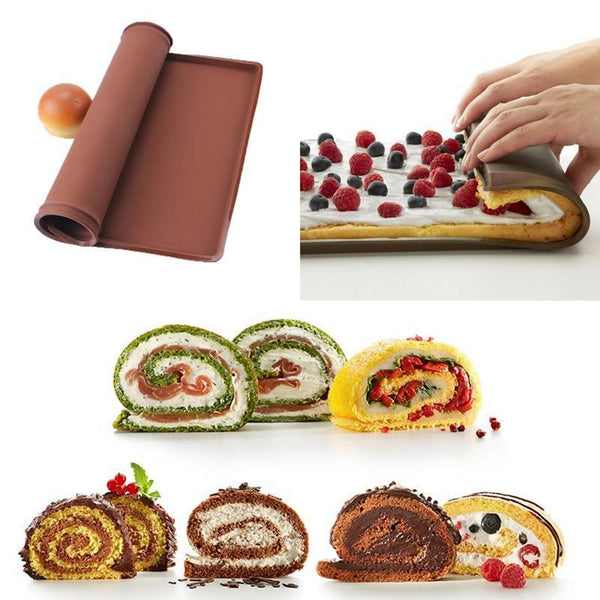 Silicone swiss roll pan 34x24cm
