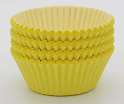 300 piece Yellow Cupcake holders wrappers