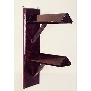 Wall Mount Saddle Rack - Double