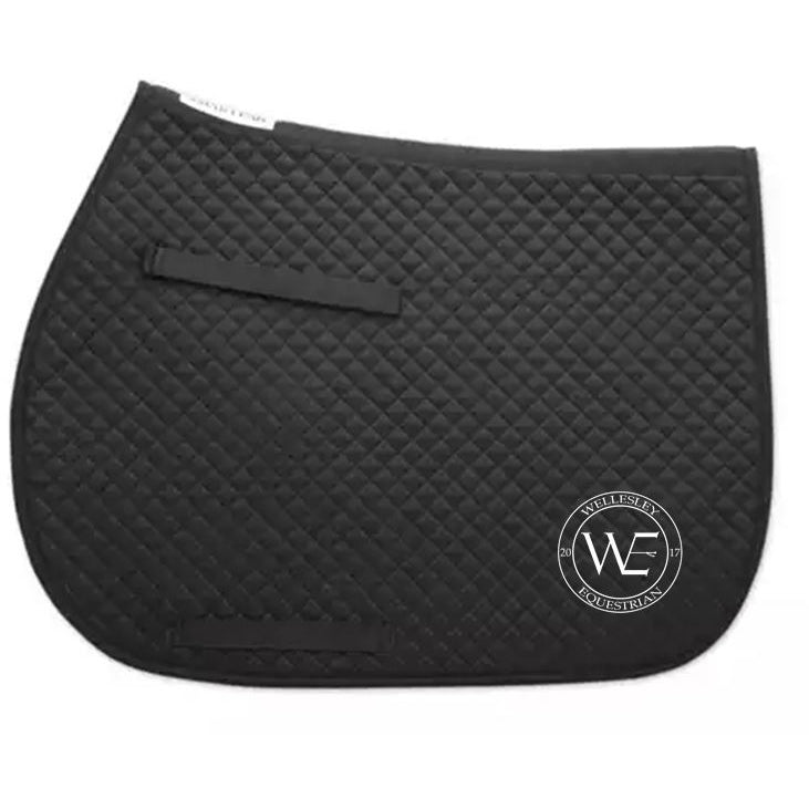 WE Logo Competition Saddle Pad