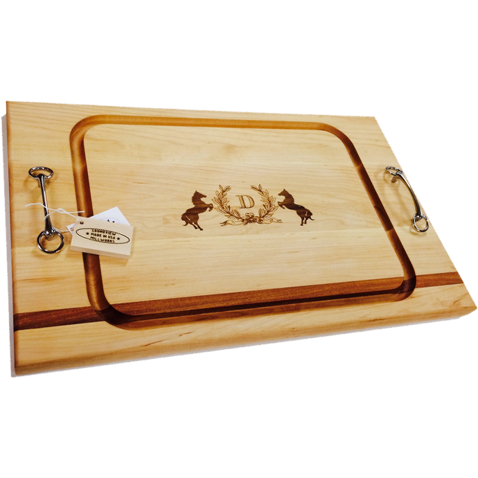 Monogrammed Serve Board (Large)